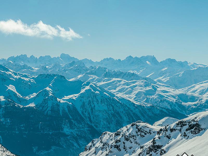 Trainingsoord lesmenuires - Skigebied
