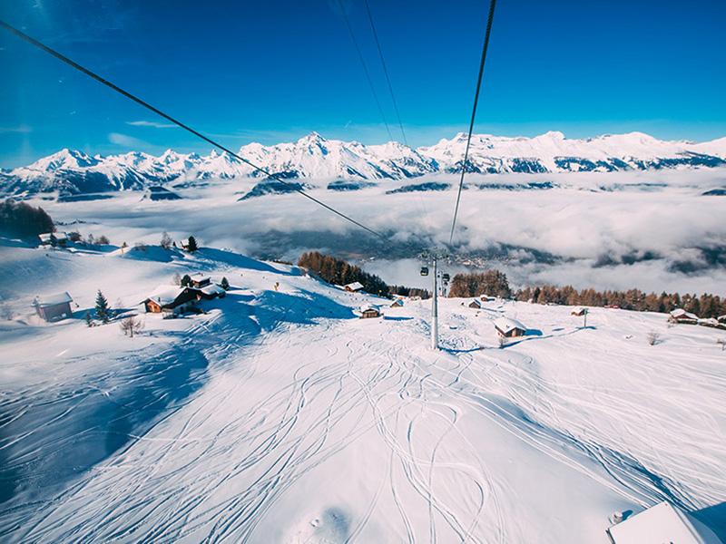 Trainingsoord sansicario - Skigebied